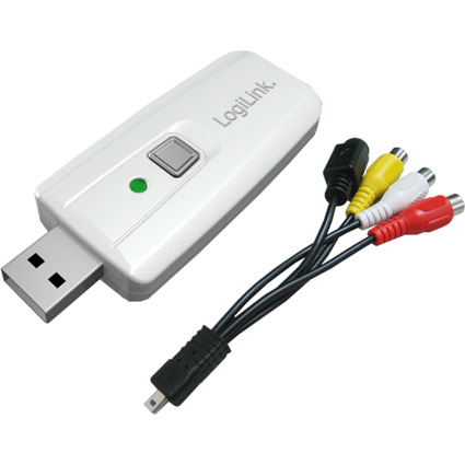 LogiLink USB 2.0 Audio und Video Grabber, MPEG 1 / 2 / 4