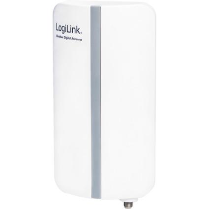 LogiLink DVB-T Outdoor Antenne, weiß