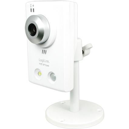 LogiLink Fast Ethernet IP HD Kamera, 1.3 MP, Bewegungsmelder