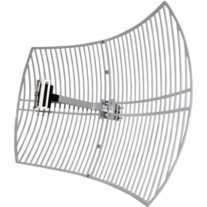 LogiLink WLAN Außen-Antenne, Parabol, 24 dBi