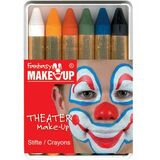 "KREUL schminkstifte-set ""Fantasy make Up"", 6 Farben"