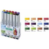 COPIC profi Marker, 12er set Sommerfarben