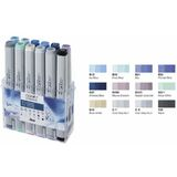COPIC profi Marker, 12er set Winterfarben