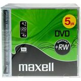 maxell DVD+RW 120 Minuten, 4,7 GB, 4x, jewel Case