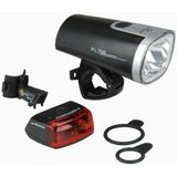 "SIGMA fahrrad LED-Beleuchtungs-Set ""FL 710 + CUBERIDER"""