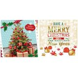 "SUSY card 3D weihnachtskarte ""Merry Christmas"""