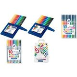 STAEDTLER brilliant COLOURS paket 2017 + 250 Tragetaschen