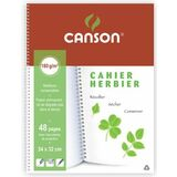 CANSON cahier Herbier, 240 x 320 mm, 48 pages