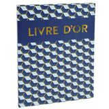 EXACOMPTA livre d'Or copper Time, 270 x 220 mm, or/bleu