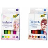 folia schminkstifte Face paint Set SWEET