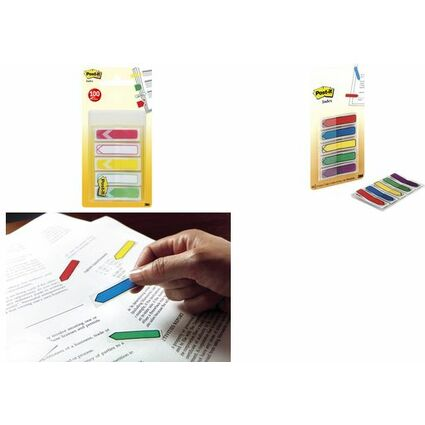 Post-it Haftmarker Index Pfeile, 11,9 x 43,2 mm, 5-farbig
