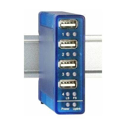 W&T USB 2.0 Hub für industrielle Anwendungen, 4 Port