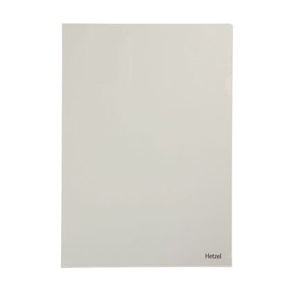 HETZEL Sichthülle Top Quality, A4, PVC, genarbt, 0,17 mm