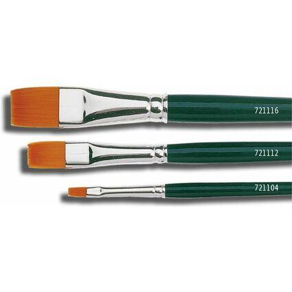 KREUL Haarpinsel Hobby Line BASIC, Nylon, flach, Gr. 6