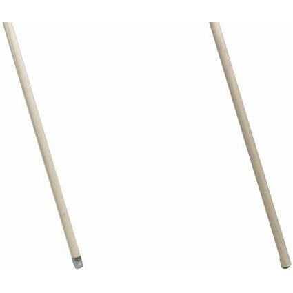 Nölle Holz-Besenstiel, Durchmesser: 24 mm, Länge: 1400 mm