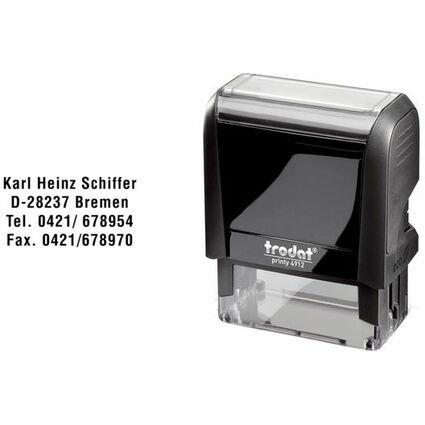 trodat Textstempelautomat Printy 4911 4.0, blau