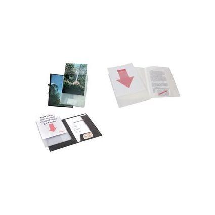 dataplus Präsentationsmappe, mit DIN A4-Tasche, weiß