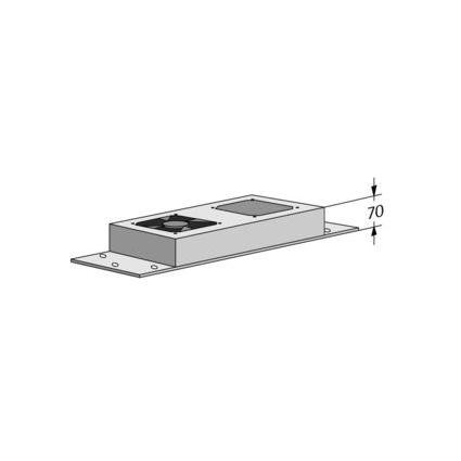 apranet Lüftungseinheit, Außenmaße Lüfter: 118 x 118 mm