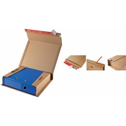 ColomPac Ordner-Versandkarton, braun, für Ordner DIN A4