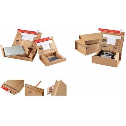 "ColomPac Paket-Versandkarton ""POST"", Größe: SL, braun"