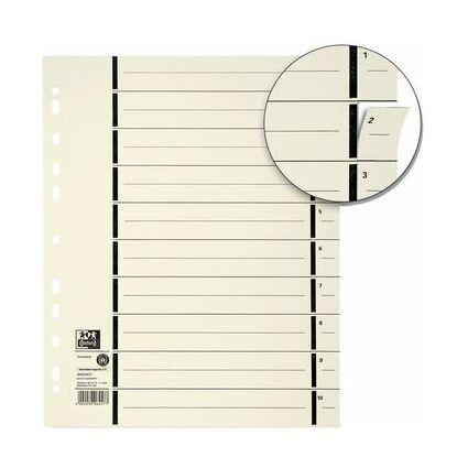 ELBA Trennblätter mit Perforation, DIN A4 Überbreite