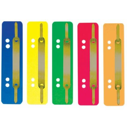 ELBA Heftstreifen, 35 x 150 mm, PP, grau, Metall-Deckleiste