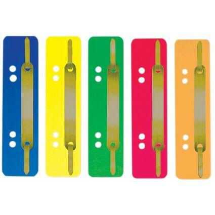 ELBA Heftstreifen, 35 x 150 mm, PP, gelb, Metall-Deckleiste