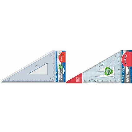 Maped Zeichendreieck Geometric 60 Grad, Kathetenlänge:210 mm