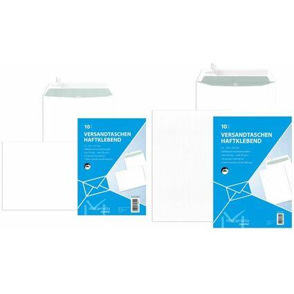MAILmedia Versandtasche Offset weiß, C4, ohne Fenster