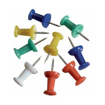 MAUL Pinnwand-Nadeln, farbig sortiert