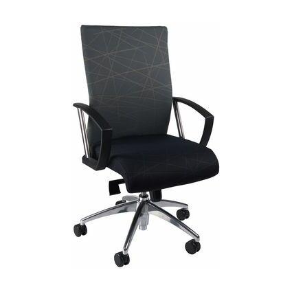 "Topstar Design-Bürodrehstuhl ""New Workart"", schwarz/graugrün"