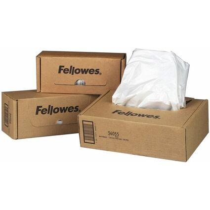Fellowes Abfallsack für Aktenvernichter, 94 Liter