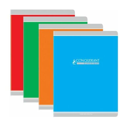 CONQUERANT CLASSIQUE Cahier, SEYES, 96 pages, 210 x 297 mm