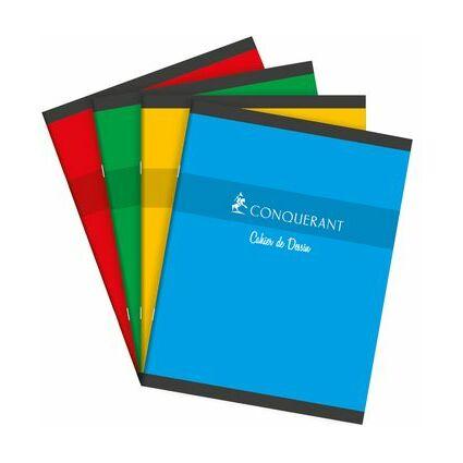 CONQUERANT SEPT Zeichenheft, NF45, 240 x 320 mm, blanko