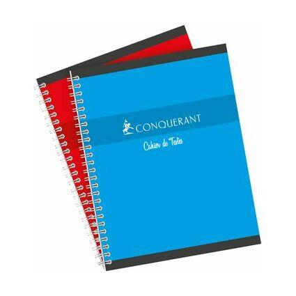 CONQUERANT SEPT Cahier de textes reliure intégrale