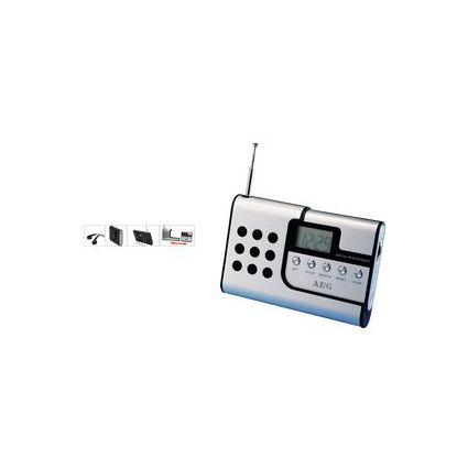 AEG Reiseradio DRR 4107, digital, 2in1, alu-schwarz