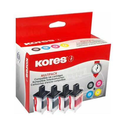 Kores Multi-Pack Tinte G1034KIT ersetzt brother LC-900BK/