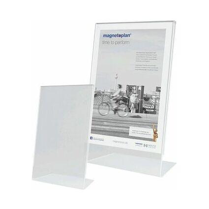 magnetoplan Tischaufsteller, Acryl, DIN A6 hoch, schräg