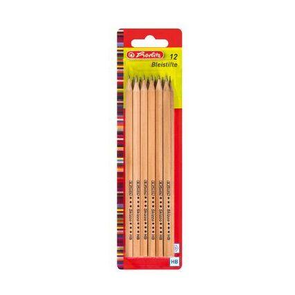 herlitz Bleistift Skizzo natur, sechseckig, Härtegrad: HB