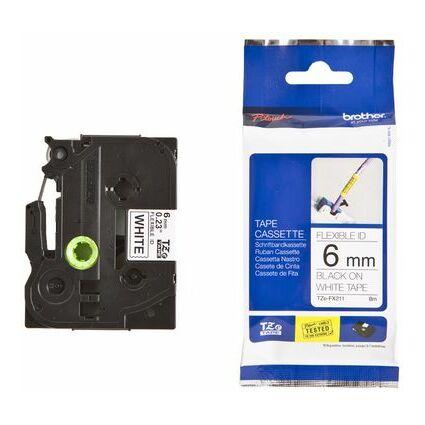 brother TZe-Tape TZe-FX211 Flexi-Tape Schriftbandkassette