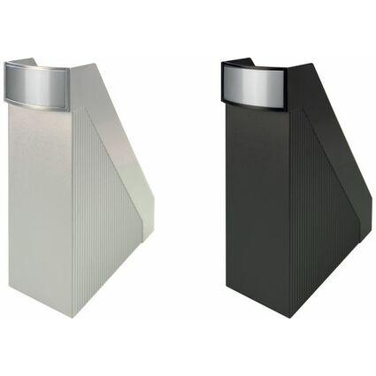 helit Stehsammler Linear, DIN A4, Polystyrol, weiß