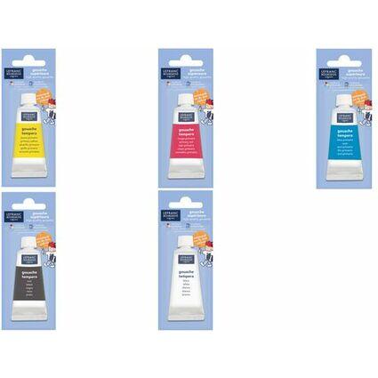LEFRANC & BOURGEOIS Gouachefarbe 20 ml, schwarz