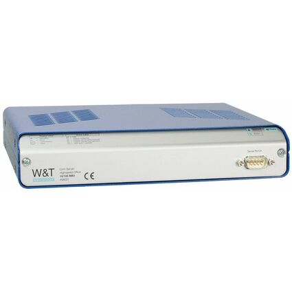 W&T COM-Server Highspeed Office, 1 Port, RJ45 10/100BaseTX
