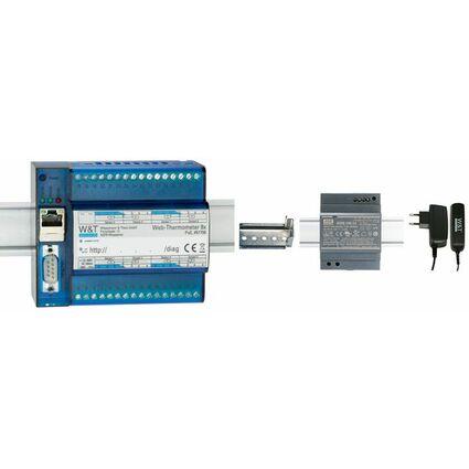 W&T PT100 Messfühler für Web-Thermograph, Anschlußkabel 2 m