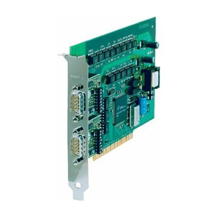 W&T Serielle 16C950 RS-232 PCI Karte, 2 Port