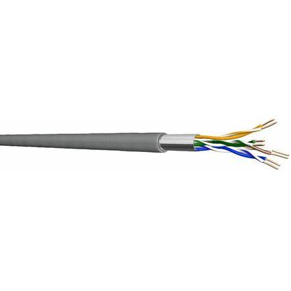 Draka F/UTP Installationskabel 100 m, Kat.5e, 100 MHz, grau,