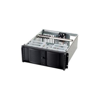 """fantec 19"""" Rechnereinschub 4 HE, silber, 400 Watt Netzteil"""