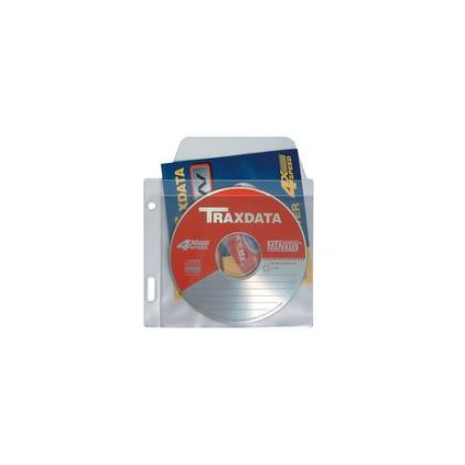 dataplus CD-/DVD-Prospekthülle, für 1 CD mit Booklet