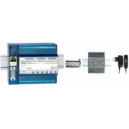 W&T Web-IO, 12 x digitaler Eingang, 6 x digitale Relais als