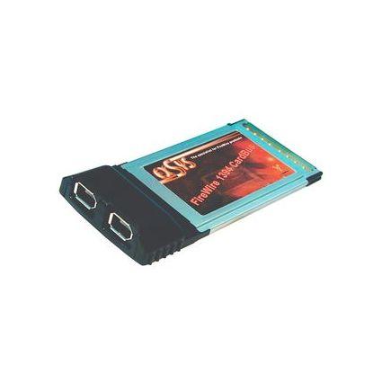EXSYS FireWire 1394a CardBus Adapter, 2 Port, ohne Kabel